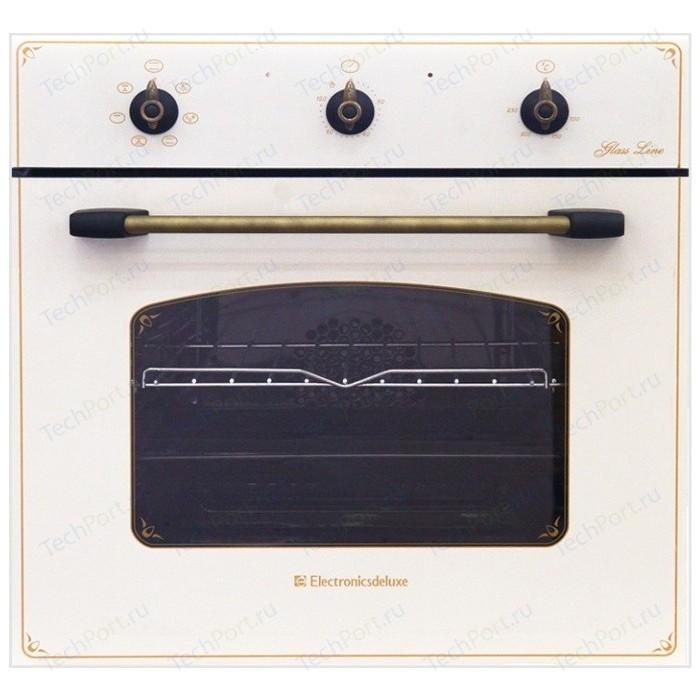 Электрический духовой шкаф Electronicsdeluxe 6006.03 эшв- 010 встраиваемый электрический духовой шкаф deluxe 6006 03 эшв 033