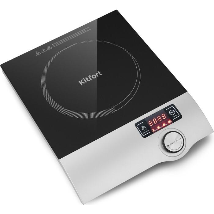 Настольная плита KITFORT KT-108 настольная плита kitfort kt 105