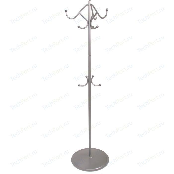 Вешалка напольная Мебелик Пико 7 металлик