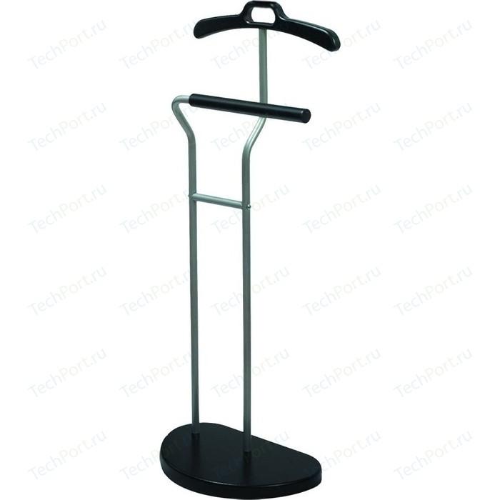 Вешалка костюмная Мебелик Д 10 металлик/венге