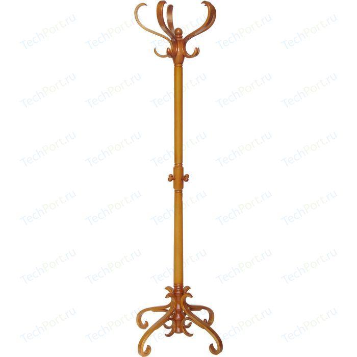 Вешалка напольная Мебелик В 2Н светло-коричневый