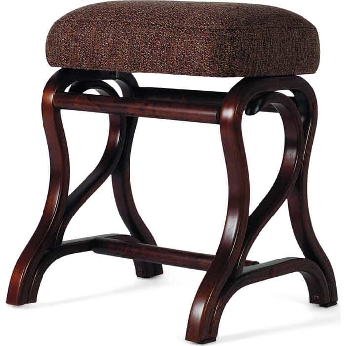 Банкетка Мебелик Диана темно-коричневый/рогожка коричневая
