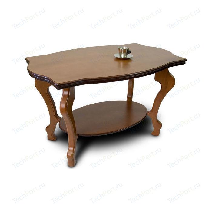 Стол журнальный Мебелик Берже 1 средне-коричневый