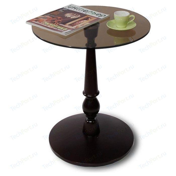 Стол журнальный Мебелик Рио 1 венге/тонированное