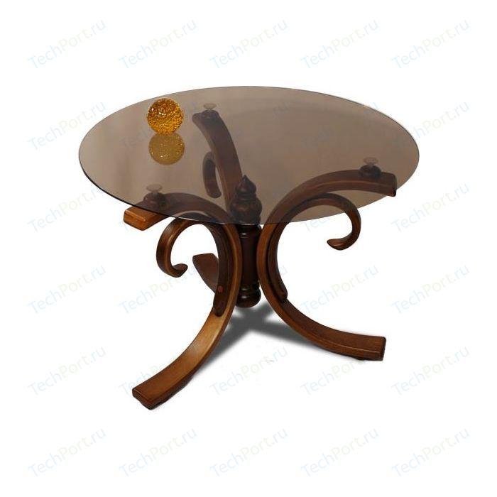 Стол журнальный Мебелик Миледи средне-коричневый