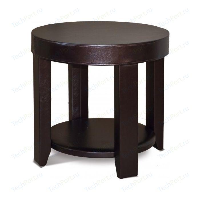 цены Стол журнальный Мебелик Сакура 1 эко-кожа/венге