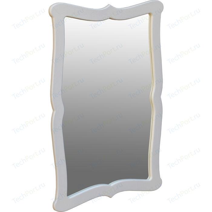 Зеркало навесное Мебелик Берже 23 белый ясень