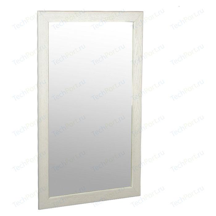 Зеркало навесное Мебелик Берже 24-105 белый ясень