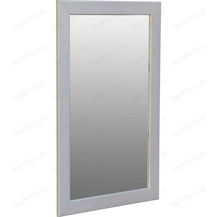 Зеркало навесное Мебелик Берже 24-90 белый ясень