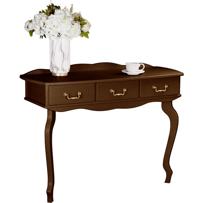 Консоль Мебелик Берже 6 темно-коричневый