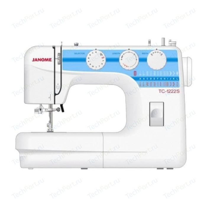 Фото - Швейная машина Janome TC 1222S швейная машина janome tc 1218 белый