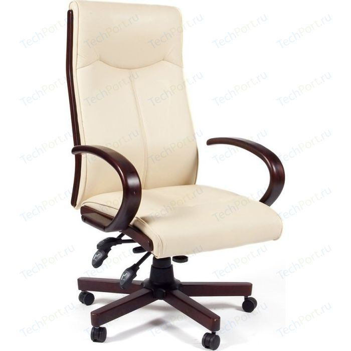 Офисное кресло Chairman CH411 бежевый