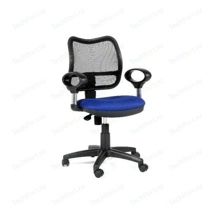 Офисное кресло Chairman 450 TW-10 синий кресло chairman 450 tw 11 tw 01 черный