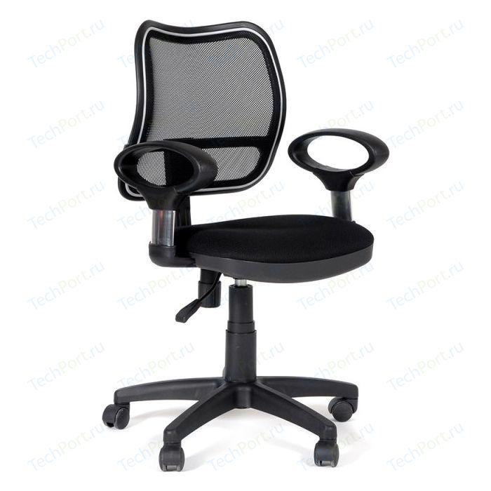 Офисное кресло Chairman 450 TW-11 черный офисное кресло chairman 451 tw 11 черный