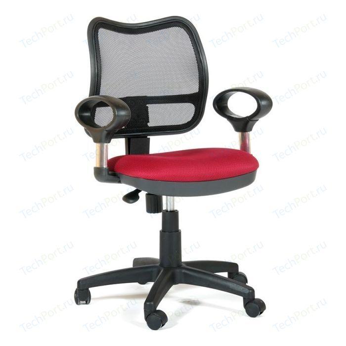 Офисное кресло Chairman 450 TW-13 красный кресло chairman 450 tw 11 tw 01 черный