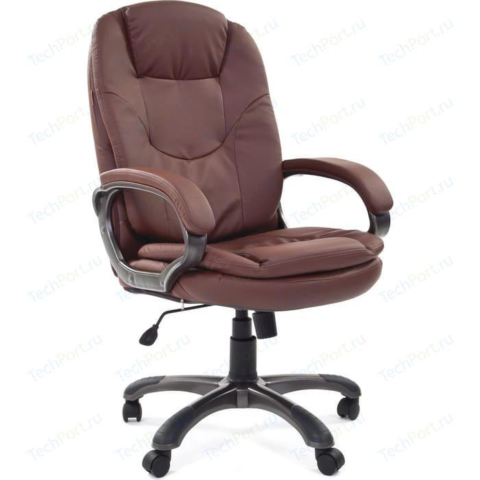 Офисное кресло Chairman 668 эко 0103 коричневый