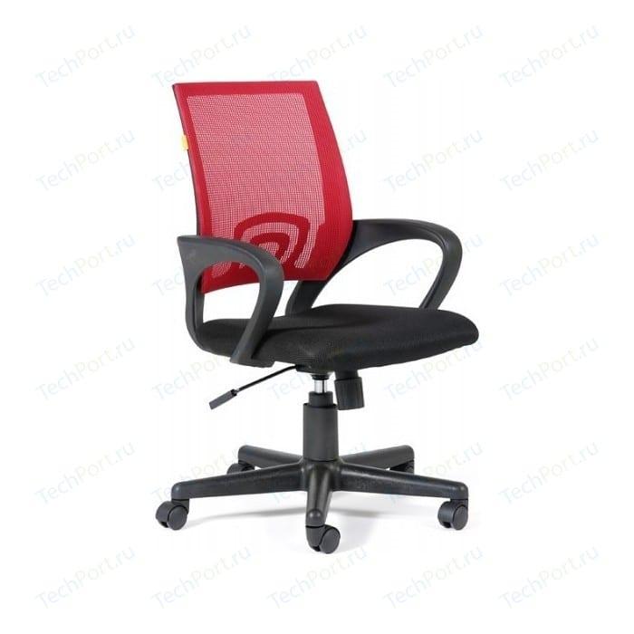 Офисное кресло Chairman 696 TW69 красный