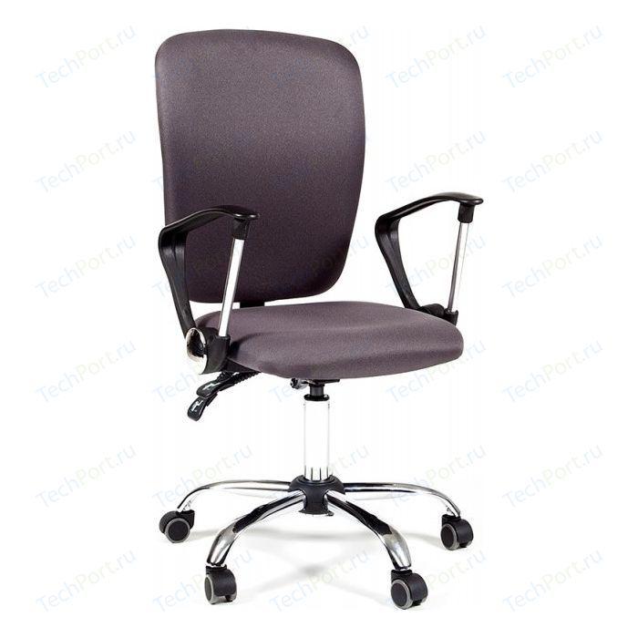 Офисное кресло Chairman 9801 хром, ткань серая