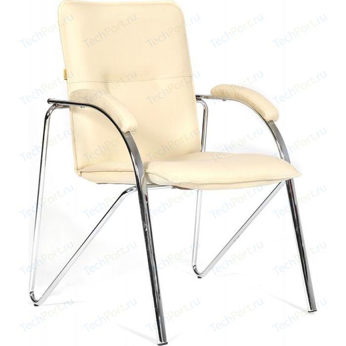 Офисный стул Chairman 850 экокожа Terra 101 бежевый (собр.)