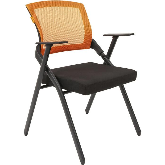 Офисный стул Chairman Nexx черный/оранжевый