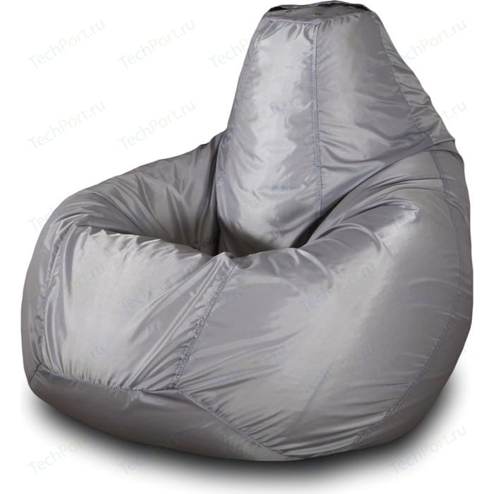 Кресло-мешок Груша Пазитифчик Бмо2 серый