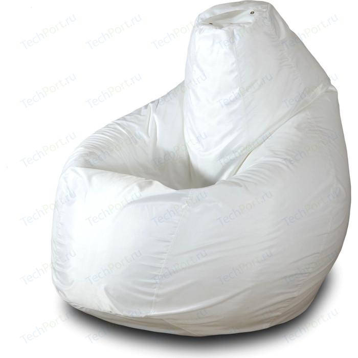 Кресло-мешок Груша Пазитифчик Бмо4 белый