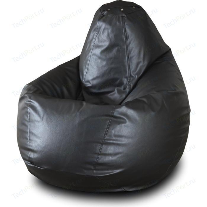 Кресло-мешок Груша Пазитифчик Бмэ3 черный