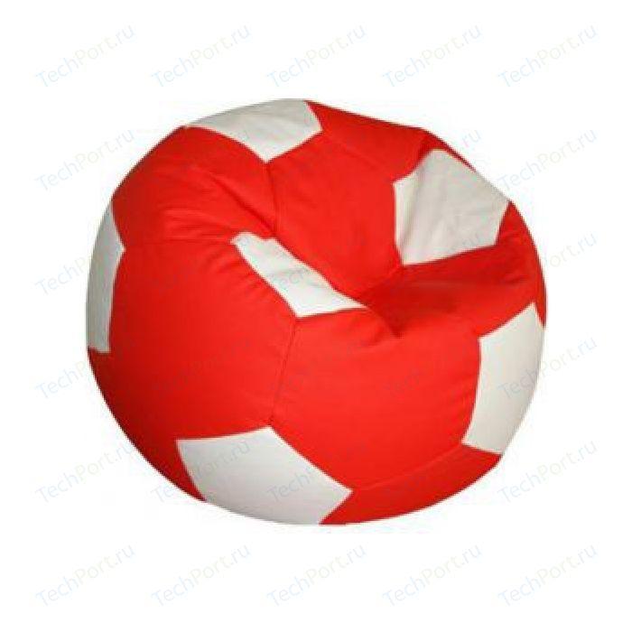 Кресло-мешок Мяч Пазитифчик Бмо6 красно-белый
