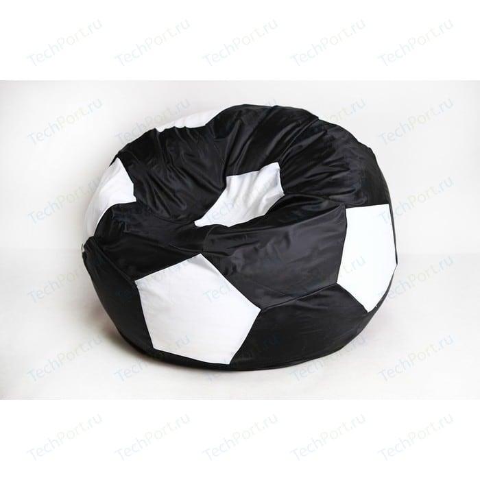 Кресло-мешок Мяч Пазитифчик Бмо6 черно-белый
