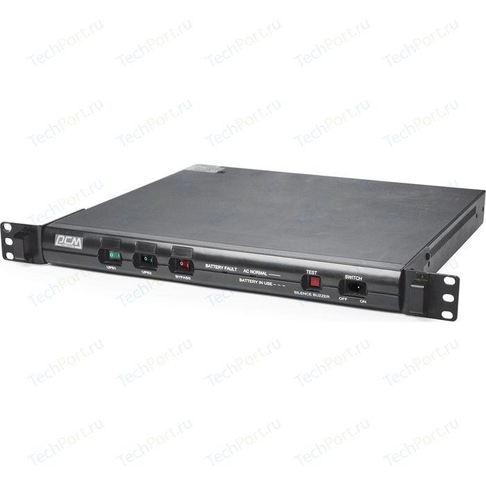 ИБП PowerCom KIN-600AP RM (1U) USB, black