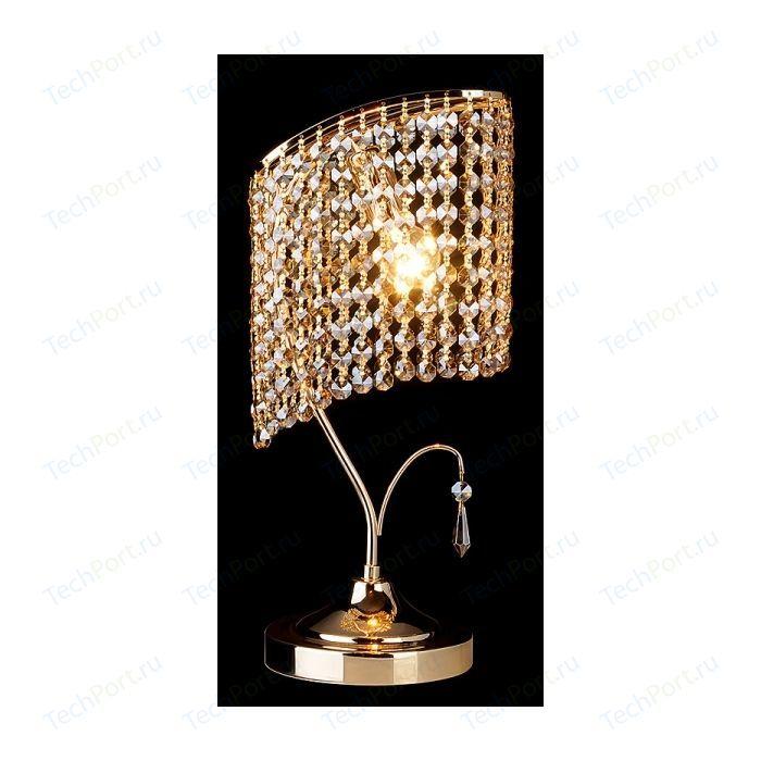Настольная лампа Eurosvet 3122/1 золото/тонированный хрусталь