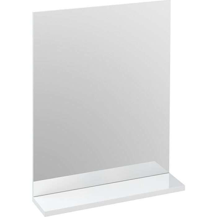 Зеркало с полкой Cersanit Melar 50 белое (B-LU-MEL)