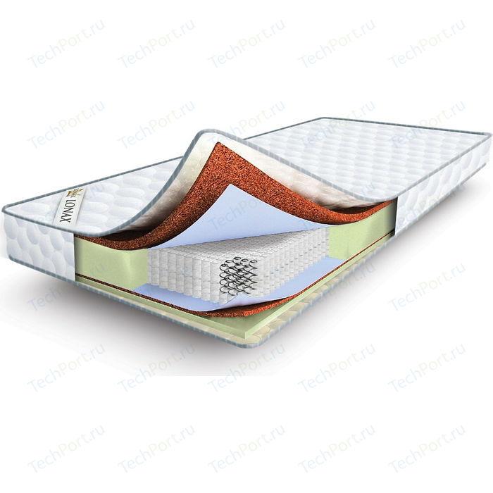 Матрас Lonax Cocos-Medium Econom S1000 80x190 матрас lonax cocos medium econom s1000 120x195