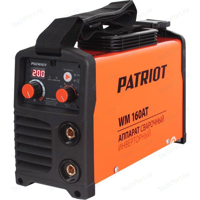 Сварочный инвертор PATRIOT WM 160AT