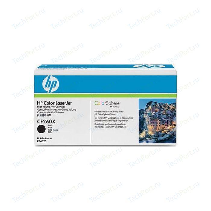 Картридж HP CE260X тонер картридж hp q6473a