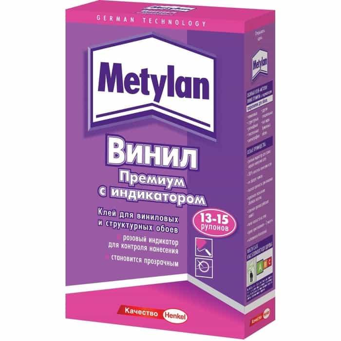 Клей Henkel Metylan для виниловых обоев 500 грамм