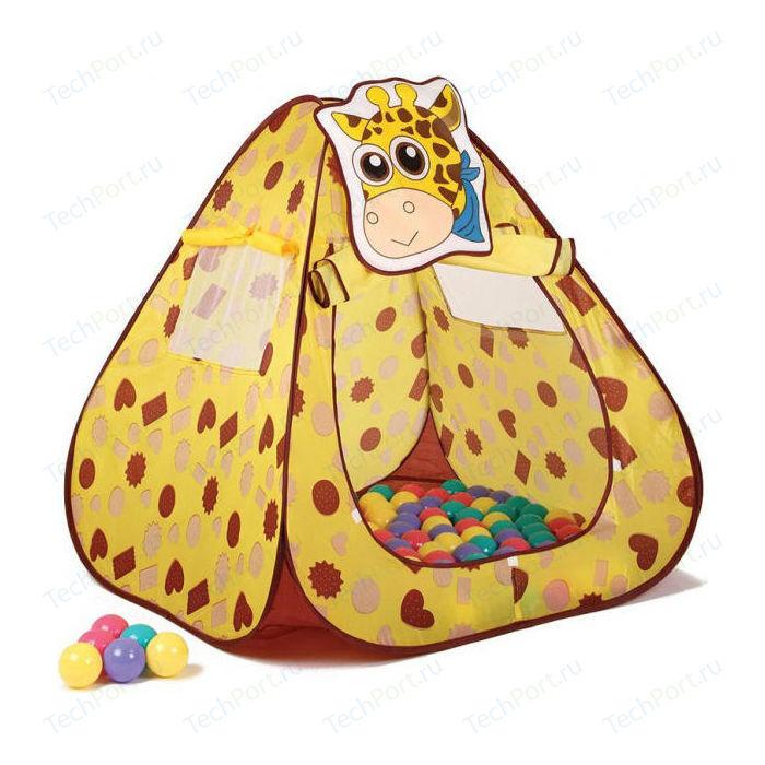 Игровая палатка Ching-Ching Жираф, конус + 100 шаров (CBH-11)
