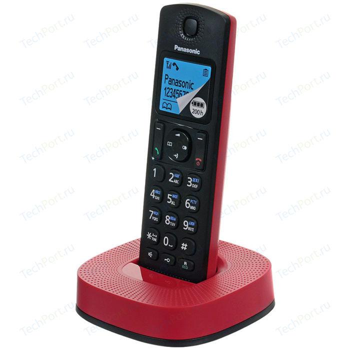 Радиотелефон Panasonic KX-TGC310RUR радиотелефон dect panasonic kx tg2511run платиновый