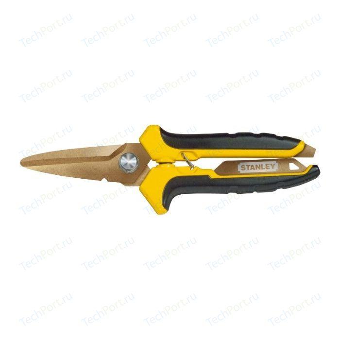 Ножницы по металлу Stanley титановое покрытие (STHT0-14103)