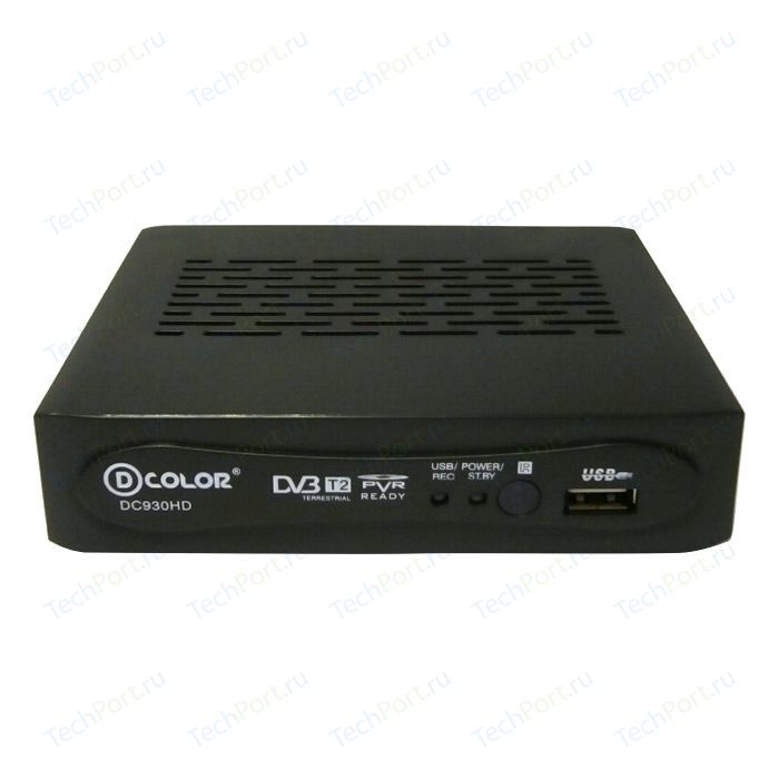 Тюнер DVB-T2 D-Color DC930HD