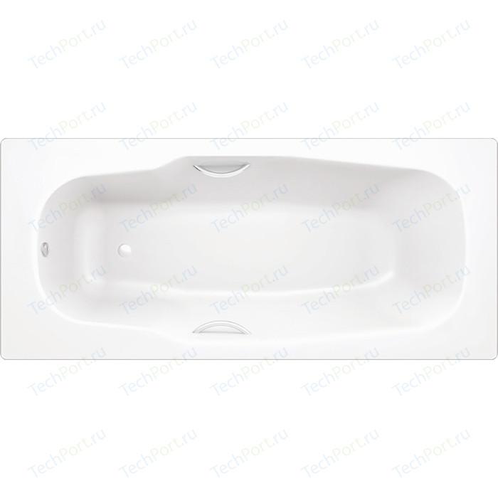 Ванна стальная BLB Atlantica HG 180х80 см 3.5 мм с отверстиями для ручек с шумоизоляцией (B80JTH001) стальная ванна 180х80 см blb atlantica b80a