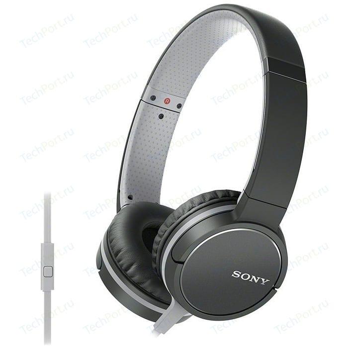 Наушники Sony MDR-ZX660AP black