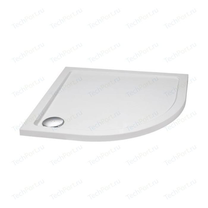 Душевой поддон Cezares 80x80x3,5 см SMC радиальный (TRAY-M-R-80-550-35-W)