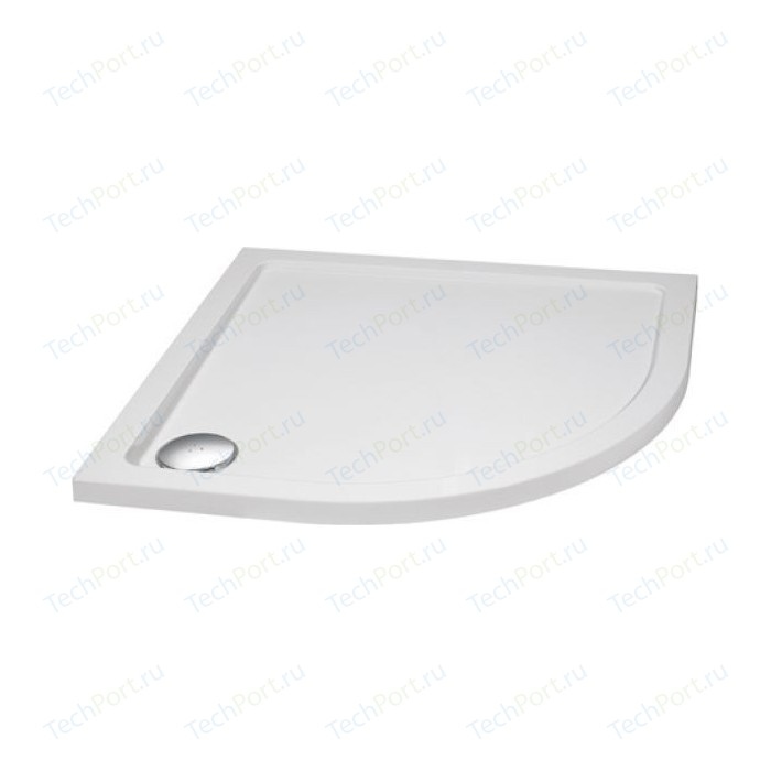 Душевой поддон Cezares 90x90x3,5 см SMC радиальный (TRAY-M-R-90-550-35-W)
