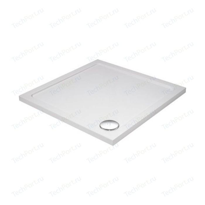 Душевой поддон Cezares 100x100x3,5 см SMC квадратный (TRAY-M-A-100-35-W)