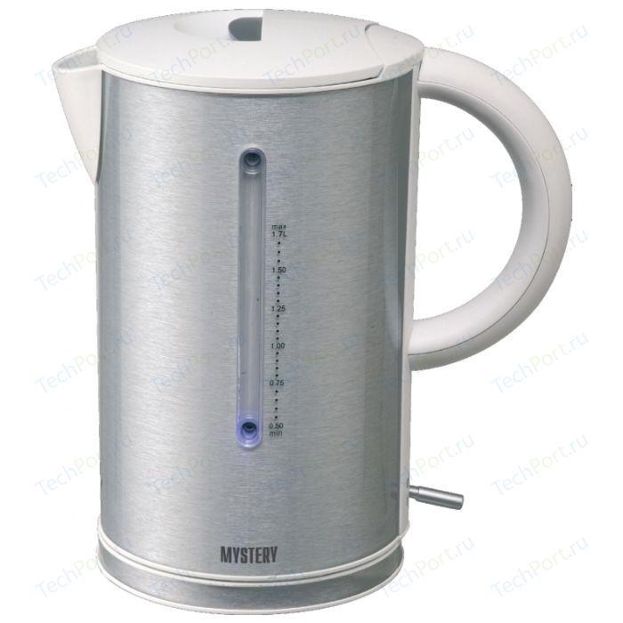 Чайник электрический Mystery MEK-1614 серый чайник mystery mek 1627