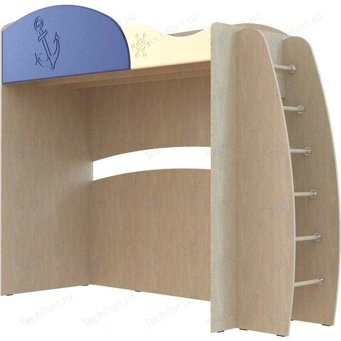 Кровать односпальная Compass Капитошка ДК-12 синий/ваниль шагрень ботинки для мальчика капитошка цвет синий белый 105 бп размер 25