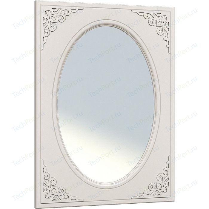 Зеркало Compass АС-07 белое дерево