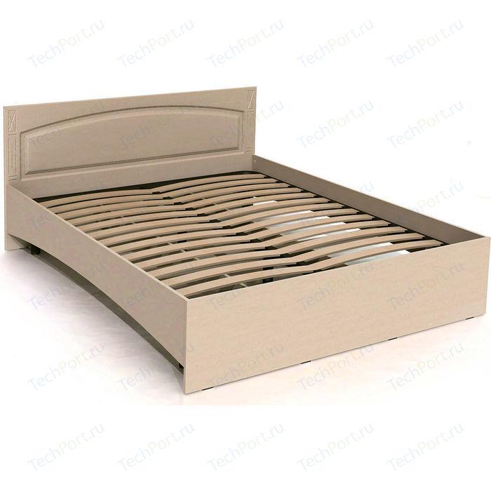 Кровать двуспальная Compass ЭМ-14 береза снежная