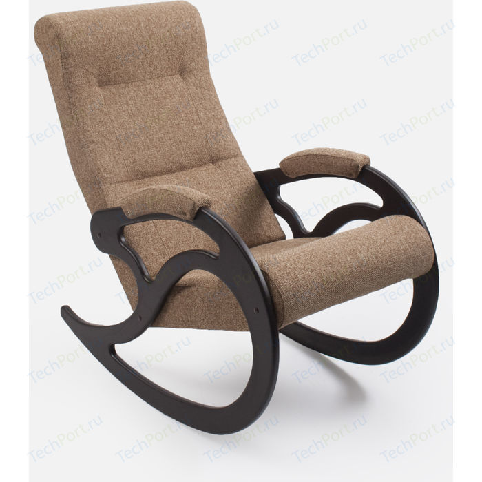Кресло-качалка Мебель Импэкс МИ модель 5 венге, каркас венге,обивка Malta 03А
